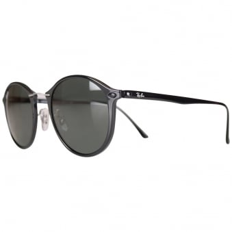 Ray Ban Black Tea Shade Sunglasses