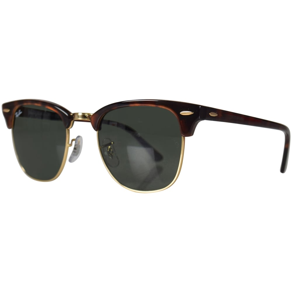 RAY-BAN SUNGLASSES Ray-Ban Brown Gold Wayfarer Sunglasses - Men from ... 5c37970e1a