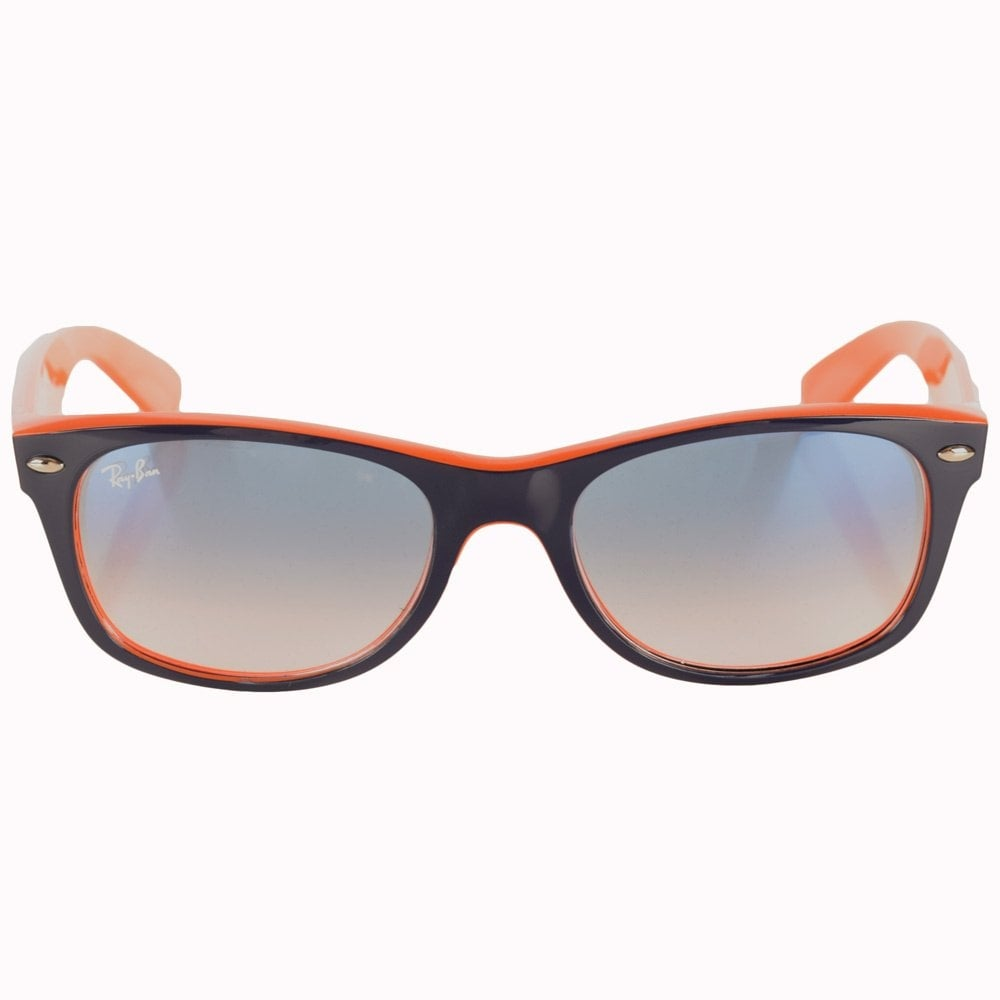 ray ban sunglasses ray ban orange navy new wayfarer. Black Bedroom Furniture Sets. Home Design Ideas