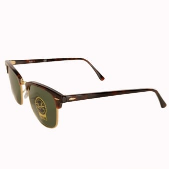Ray-Ban Tortuous Shell Club Master Sunglasses