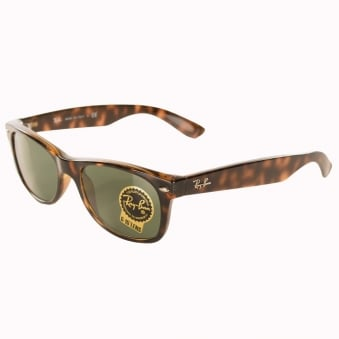 Ray-Ban Tortuous Shell New Wayfarer Classic Sunglasses