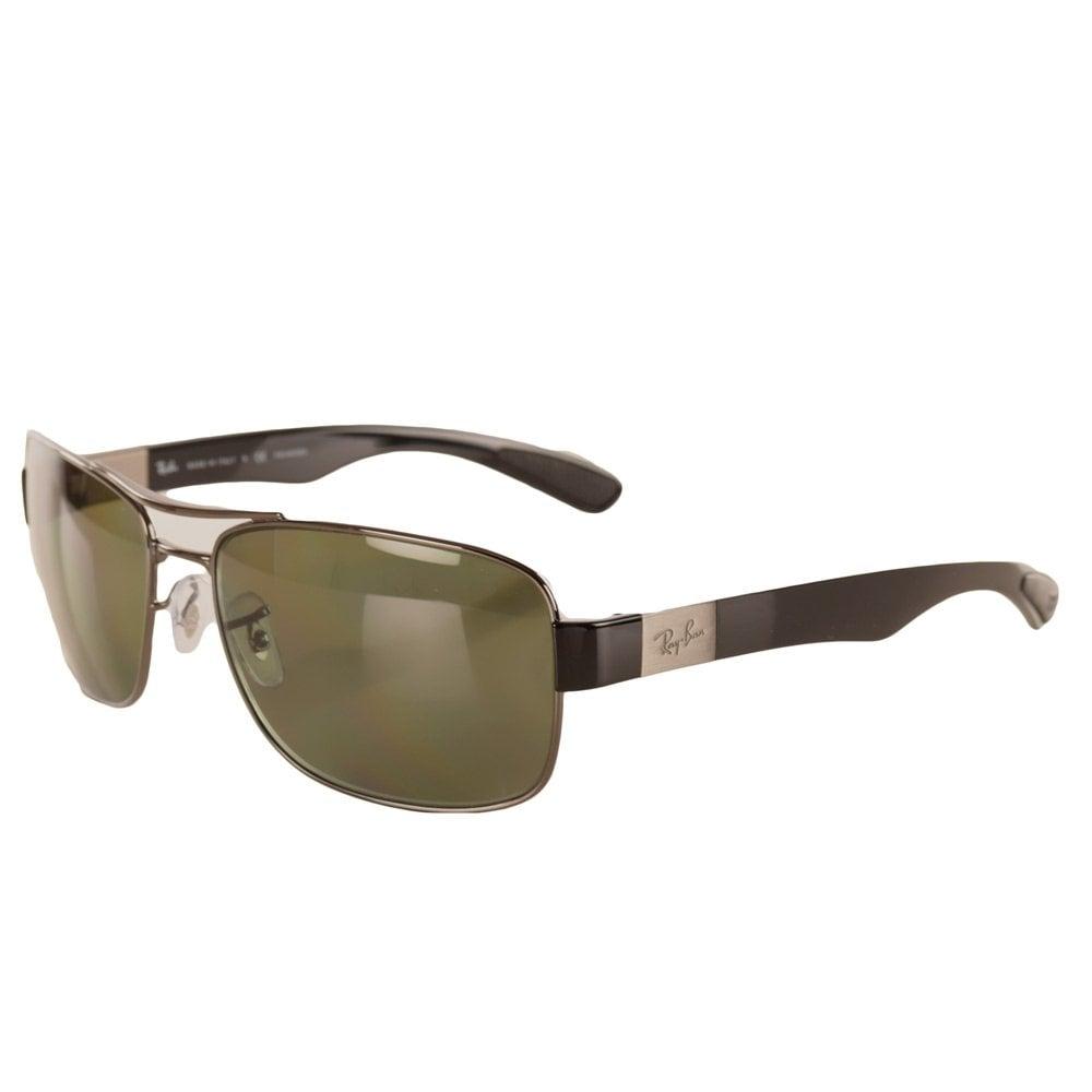 RAY-BAN SUNGLASSES Ray Ban Thin Frame Rectangular Glasses - Men from ...