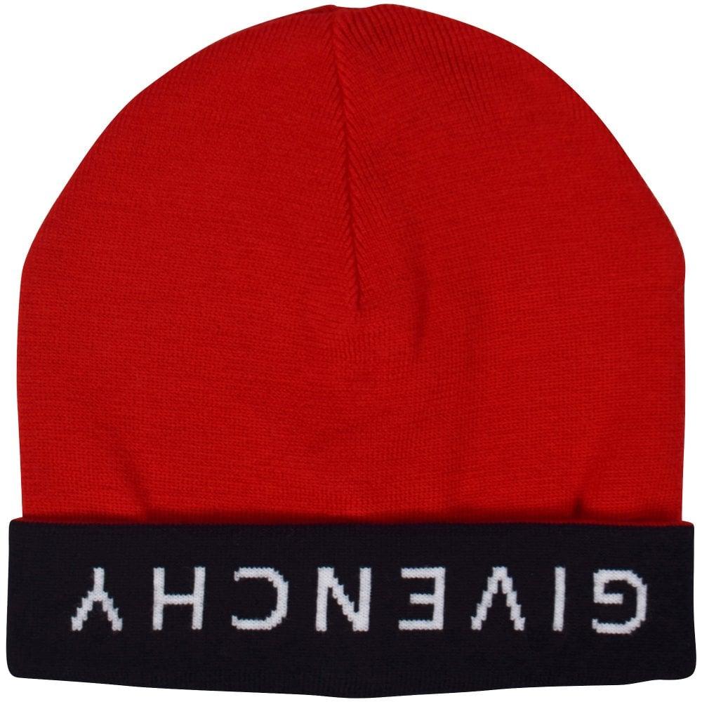 f894ec64a Red/Black Logo Beanie Hat