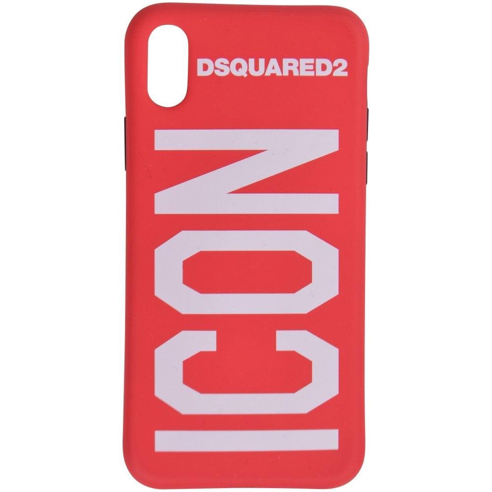 f3fdeeb8 Red ICON iPhone X Phone Case
