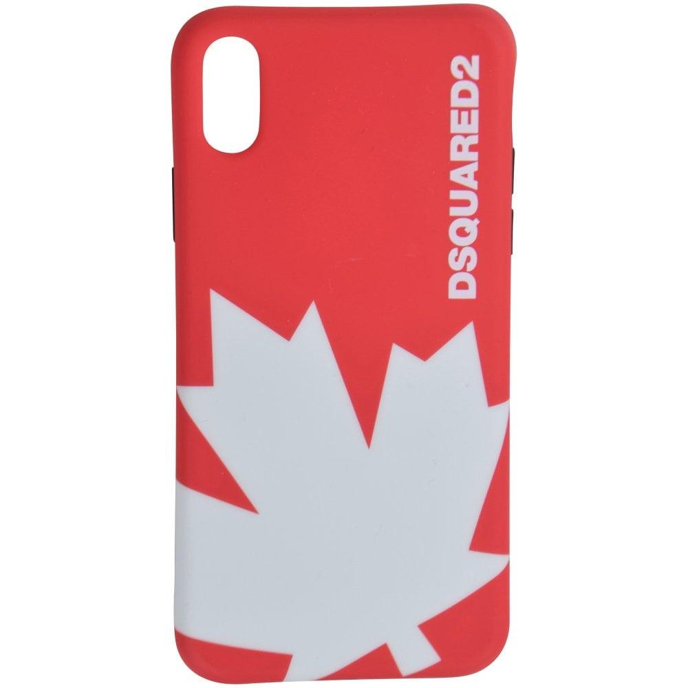 89e9b38e Red Leaf iPhone X Phone Case