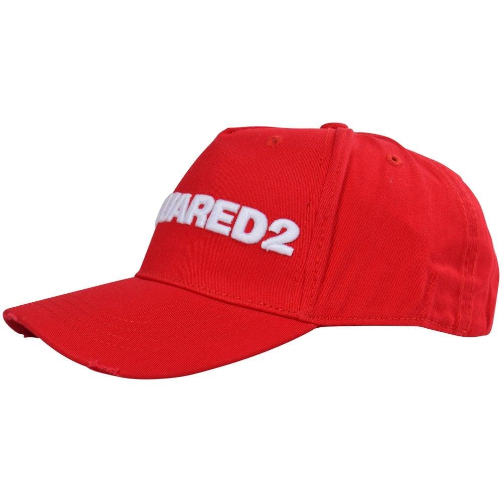 8578449cb Red/White Logo Baseball Cap