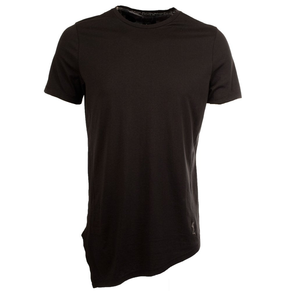 Religion religion longline plain black t shirt men from for T shirt plain black