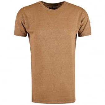 Represent Tan Oversized Costa T-Shirt