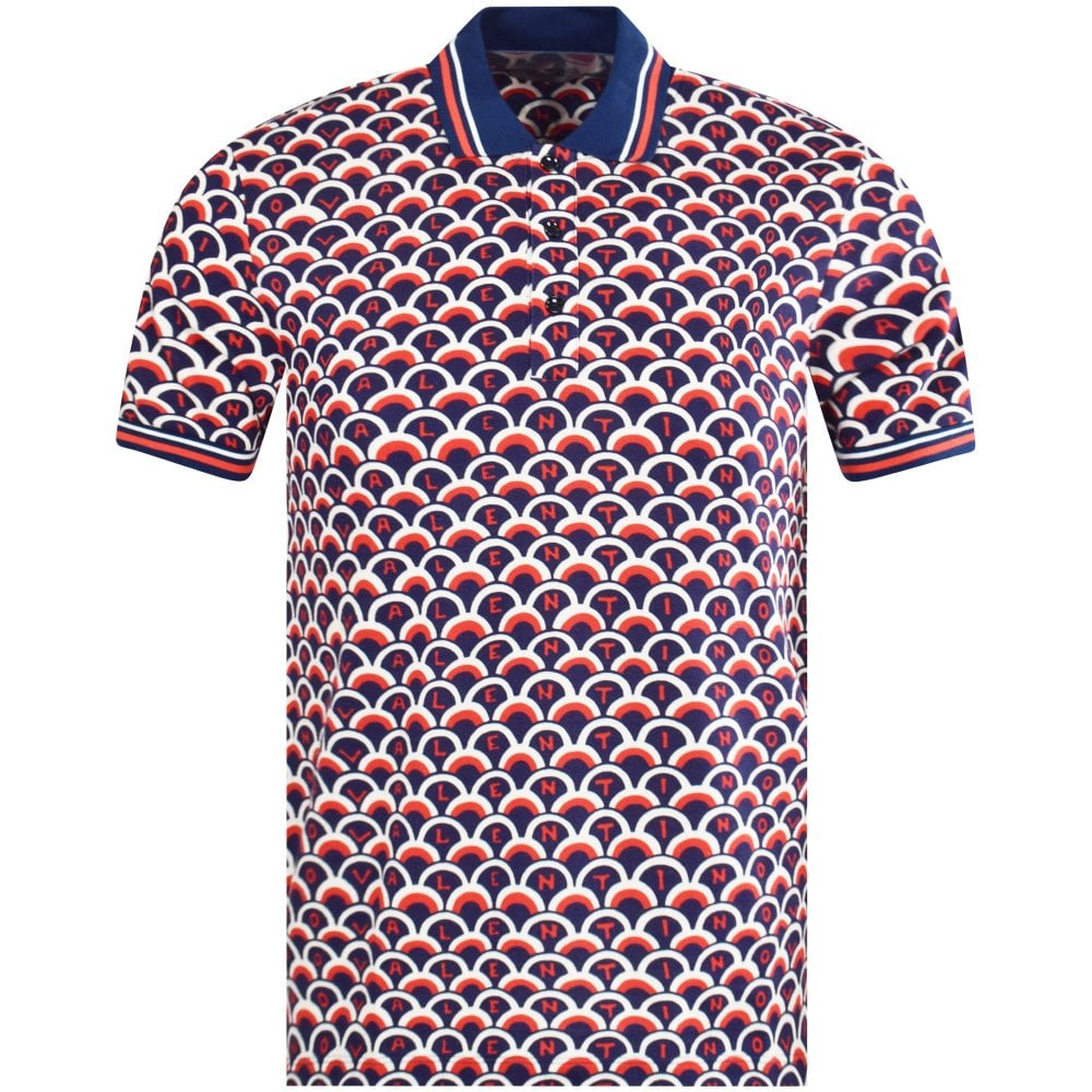 b20c2d3c VALENTINO Scale Logo Polo Shirt - Men from Brother2Brother UK