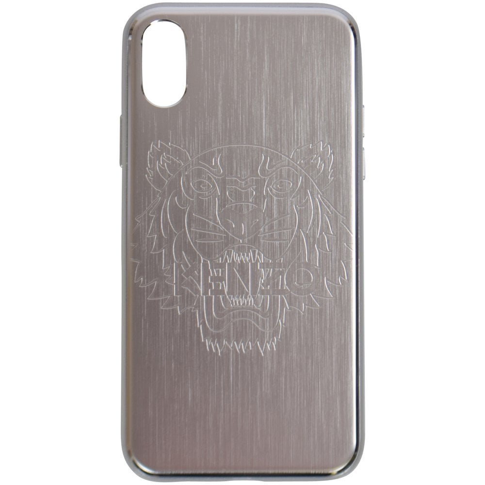 e7c7d7c3 KENZO Silver iPhone X Tiger Phone Case - Department from ...