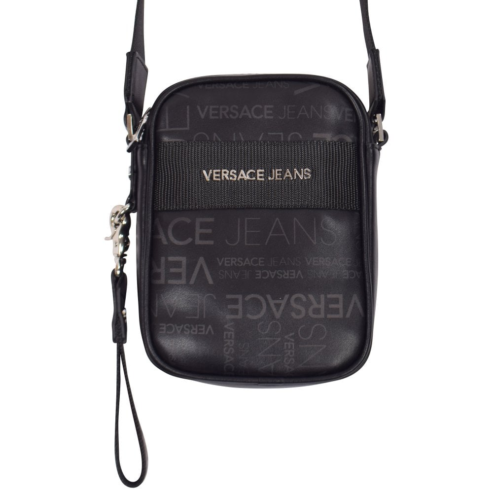 e2d19bbd2b4 VERSACE JEANS Small Logo Print Shoulder Bag - Department from ...