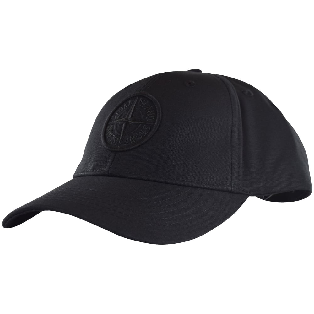 STONE ISLAND Stone Island Black Compass Logo Cap - Men from ... eb15de2233d