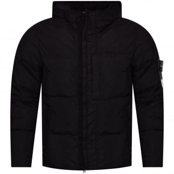 Stone Island Black Puffer Style Jacket