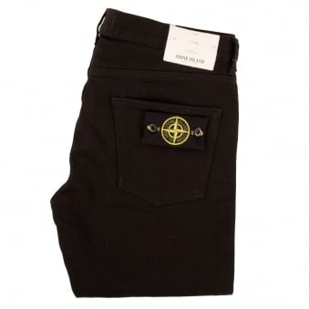 Stone Island Black Slim Fit Jeans