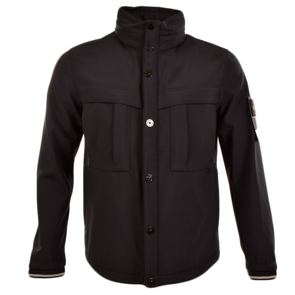 2332a9d40 Black Soft Shell-R Short Jacket