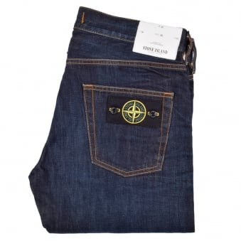 Stone Island Dark Wash Slim Jeans