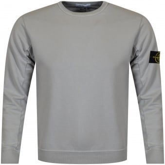 Stone Island Grey Badge Sweatshirt