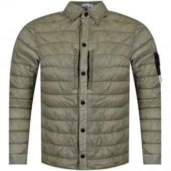 Stone Island Khaki Lightweight Jacket