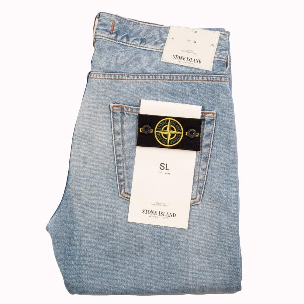 ffcd71ef35 Light Wash Slim Fit Jeans