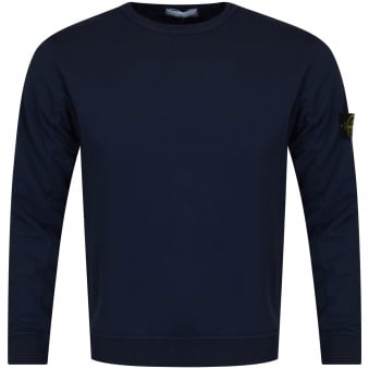 Stone Island Navy Badge Sweatshirt