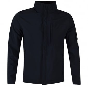 Stone Island Navy Soft Shell-R Jacket