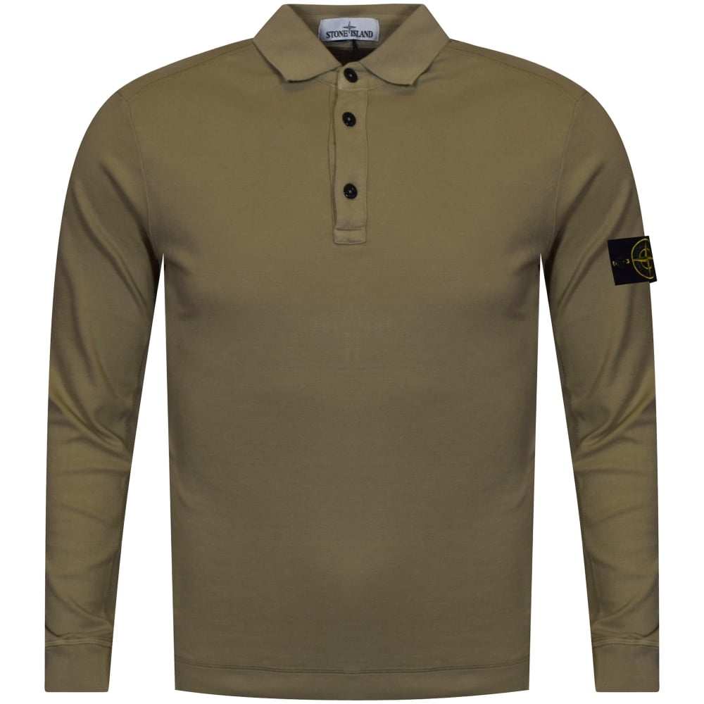 68e49fe4 Achat mens brown long sleeve polo shirts - 65% OFF pas cher ...
