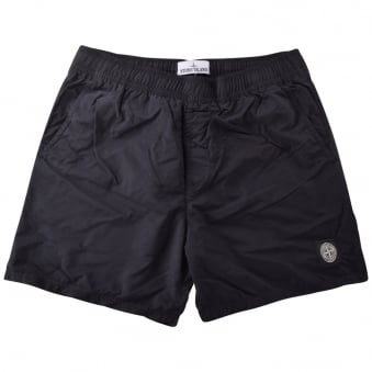 Stone Island Black Compass Swim Shorts