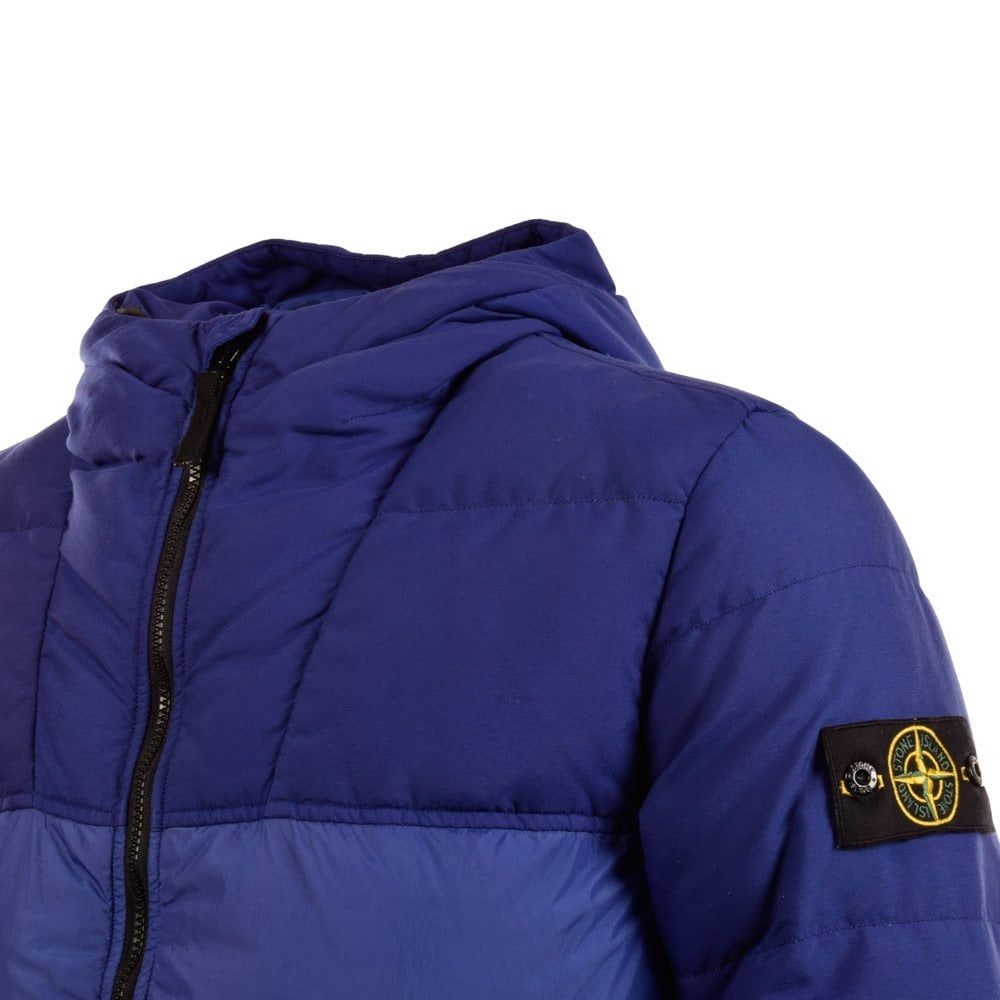 stone island stone island navy puffer down jacket stone island from brother2brother uk. Black Bedroom Furniture Sets. Home Design Ideas