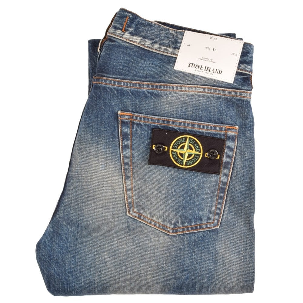 stone island type sl slim fit jeans stone island from. Black Bedroom Furniture Sets. Home Design Ideas