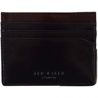 Ted Baker Black Metal Edge Card Holder