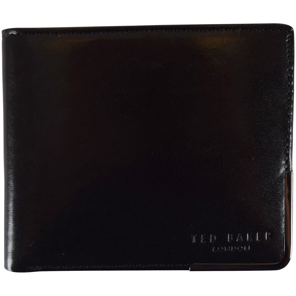 17a1afabde33bb Ted baker ted baker black metal edge logo wallet men jpg 1000x1000 Ted baker  mens wallets