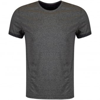 Ted Baker Grey Sleeve Detail T-Shirt
