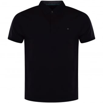 Ted Baker Navy Button Pocket Polo Shirt
