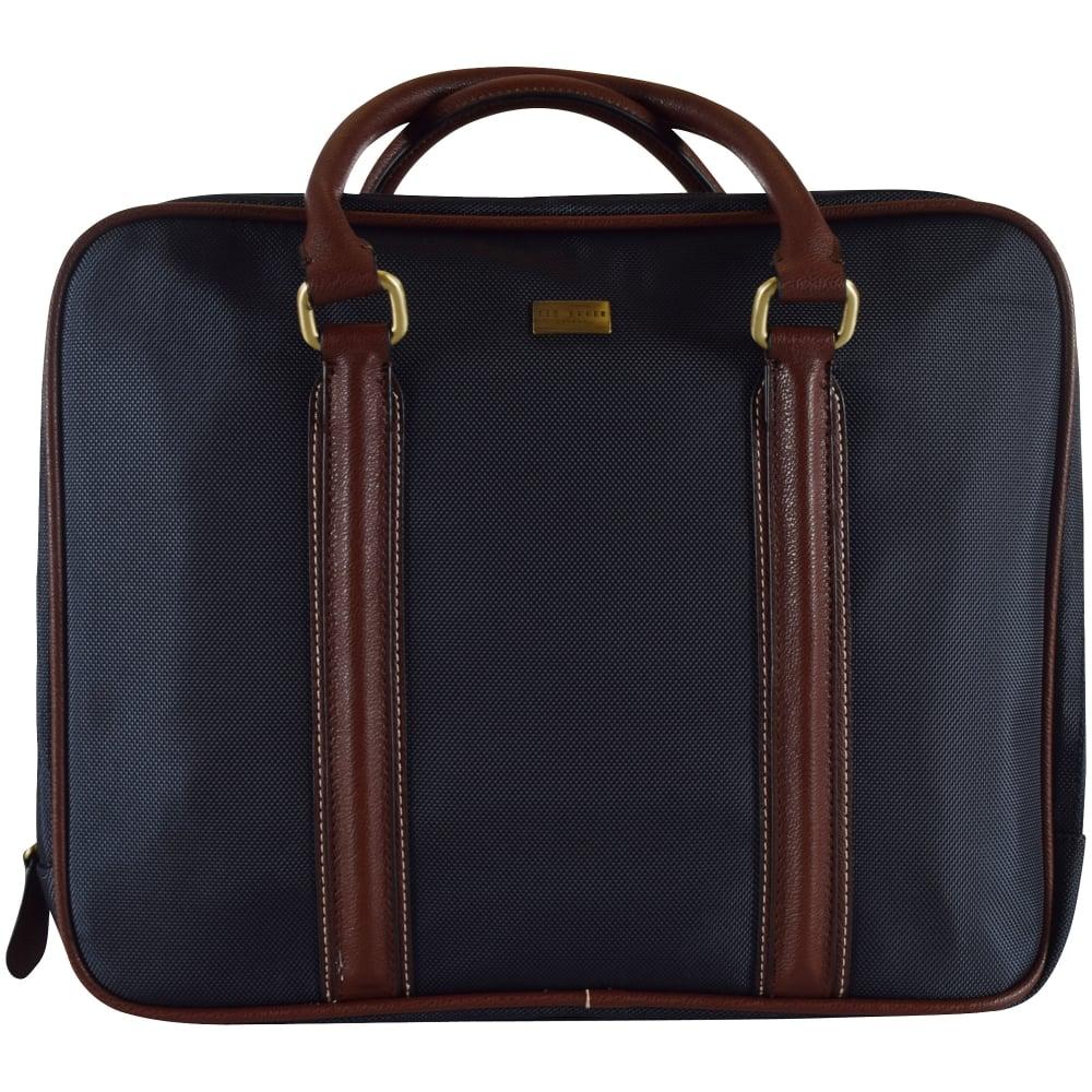 1767de36c240 TED BAKER Ted Baker Navy Nylon Document Bag - Men from ...