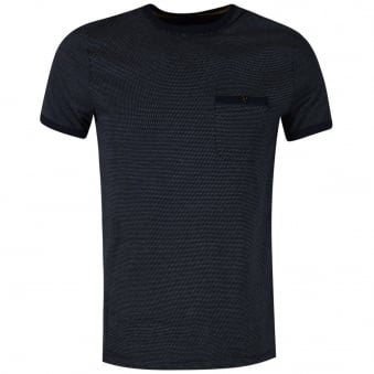 Ted Baker Navy Spotted T-Shirt