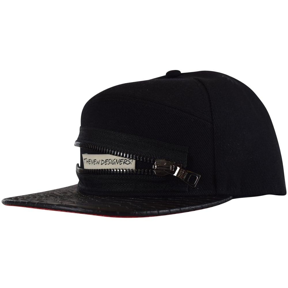 dd62da5d Black Zip Logo Snapback Cap