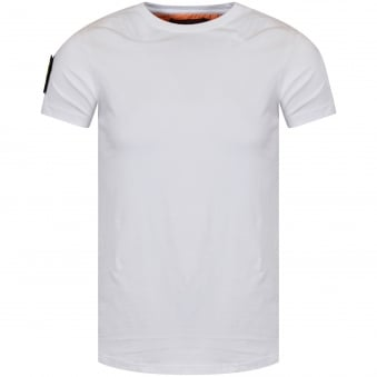 The New Designers White Patch T-Shirt