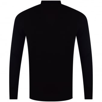 Thomas Finley Black Roll Neck Jumper