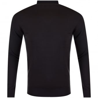 Thomas Finley Charcoal Roll Neck Jumper