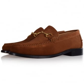 Thomas Finley Tan Suede Loafers