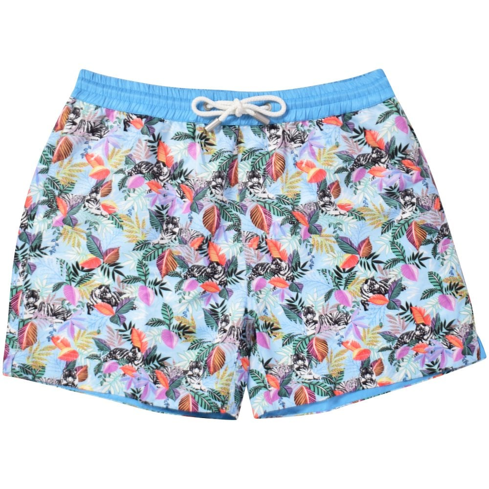 0834843405 THOMAS ROYALL Tiger Jungle Swim Shorts - Department from ...