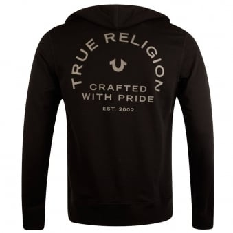 True Religion Black Crafted with Pride Hoodie
