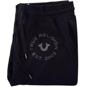True Religion Black Crafted With Pride Joggers