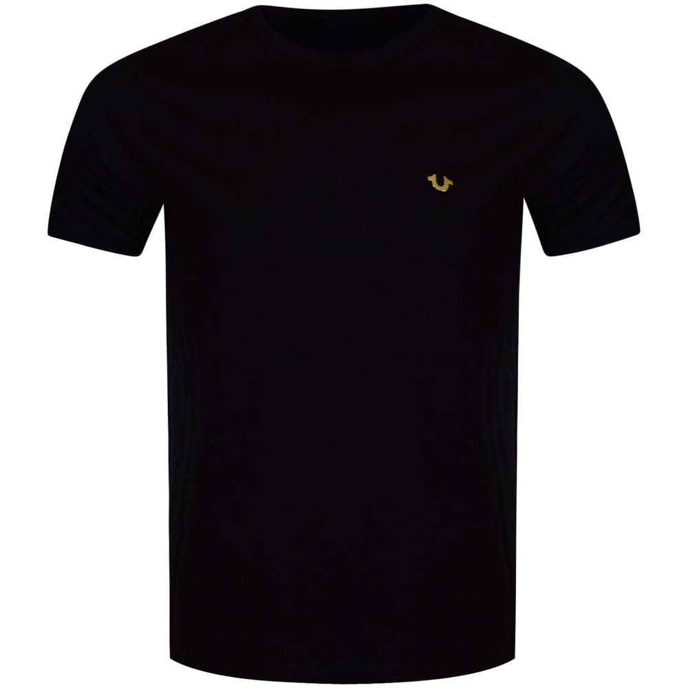 ed8deaf4527 TRUE RELIGION True Religion Black Metal Logo T-Shirt - Men from ...