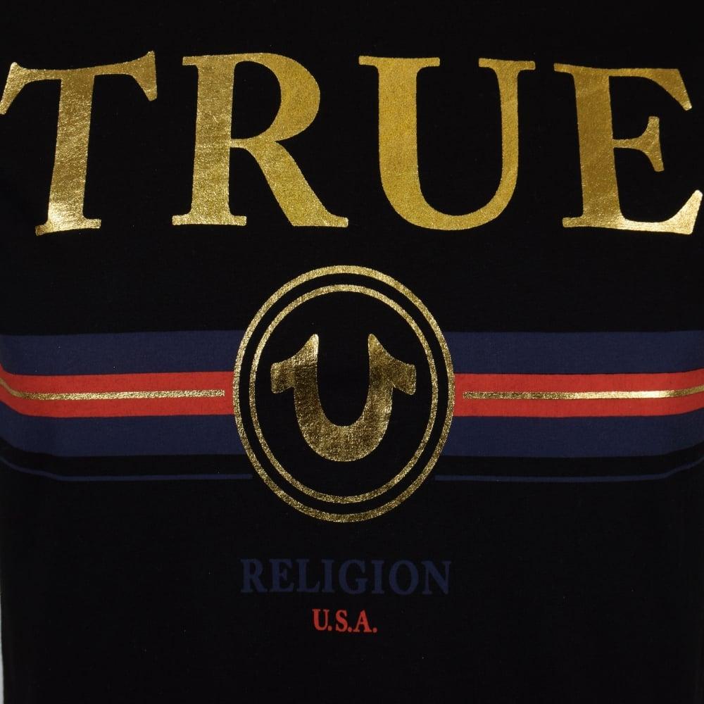 True Religion True Religion Bluered Stripe T Shirt Men From