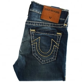 True Religion Dusty Ride Rocco Relaxed Skinny Jeans
