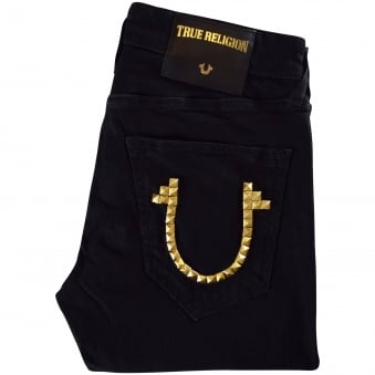 True Religion Gold Logo Tony Skinny Jeans