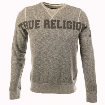 True Religion Grey Dark California Sweatshirt