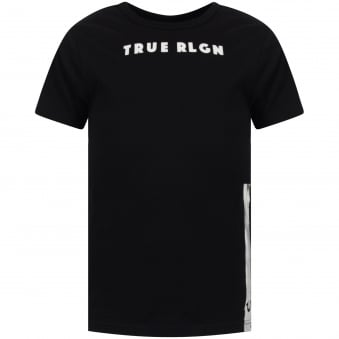 Black/White Foil T-Shirt