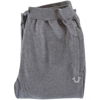 True Religion Junior Grey Crafted with Pride Cuffed Joggers